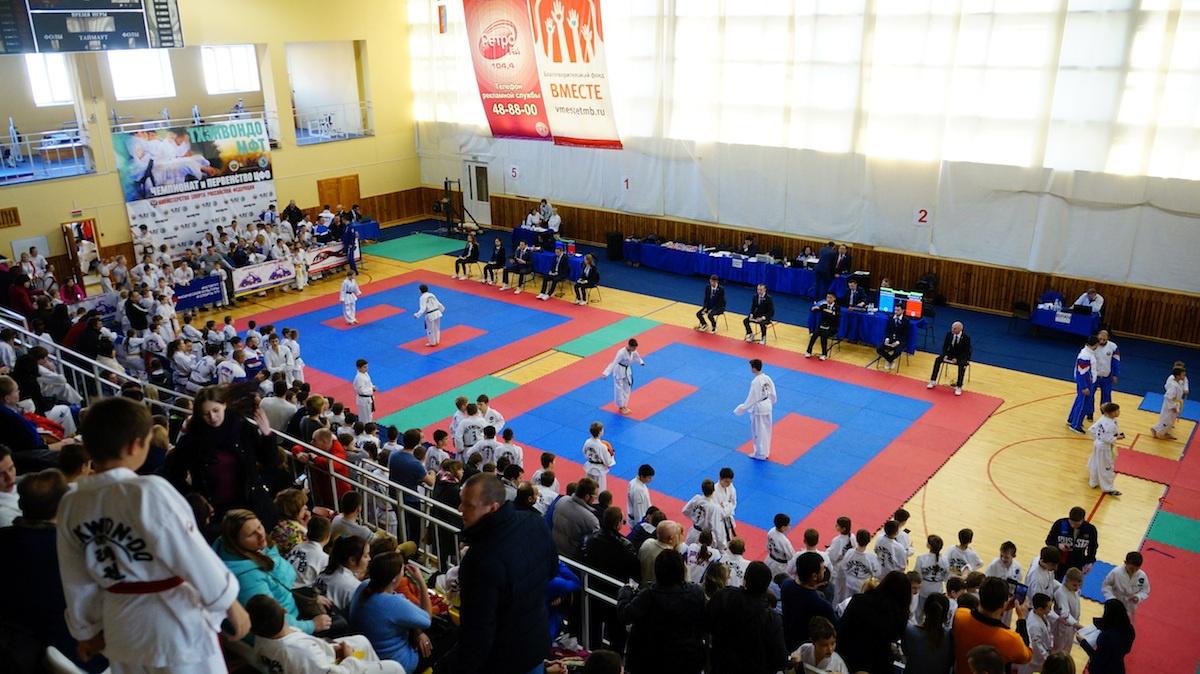 Первенство и чемпионат ЦФО по тхэквон-до в Тамбове