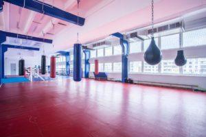Зал секции бокса рядом с проспектом Вернадского