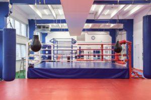 Зал бокса центра единоборств Белый Лотос