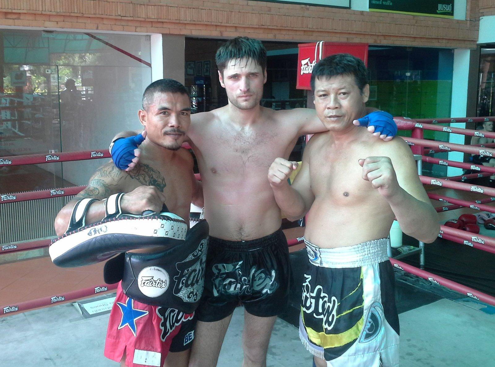 Тренировки по тайскому боксу в Таиланде