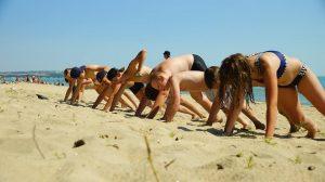 Спортивный лагерь на берегу моря, Болгария