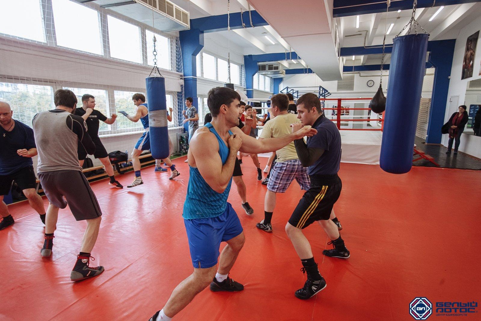 Секция бокса взрослые группы