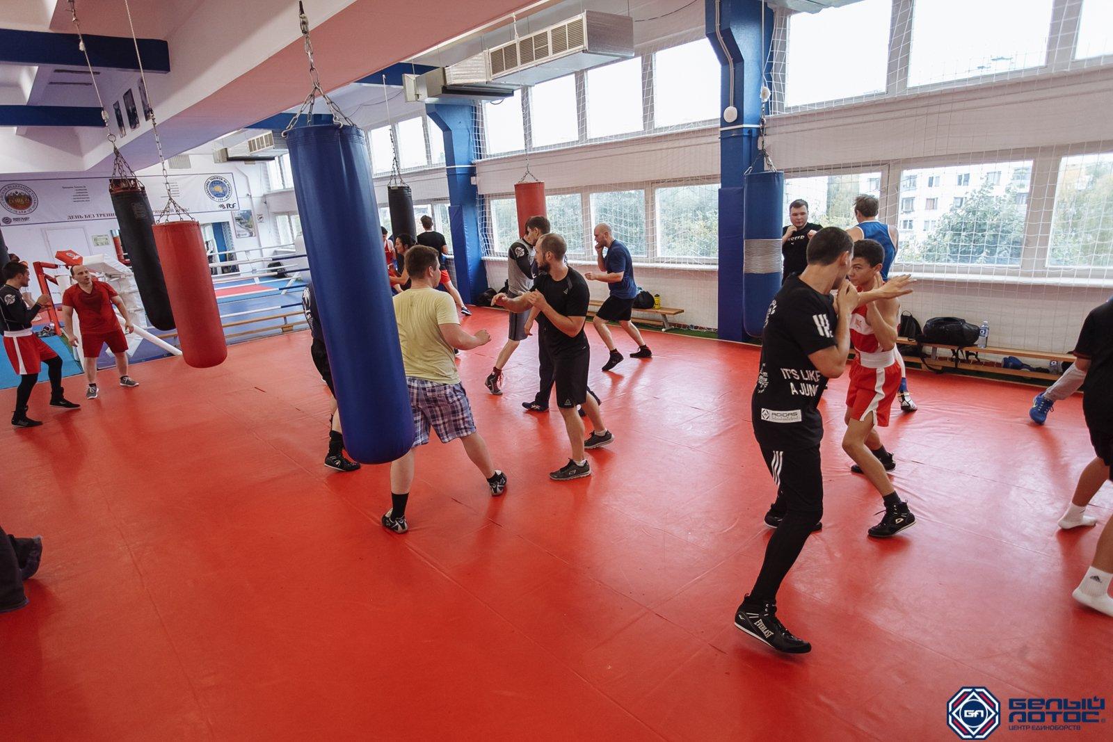 Секция бокса в Белом Лотосе