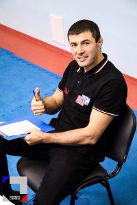 Тренер по ММА Ахмед Таибов