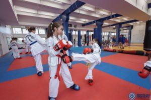 Тренировки по тхэквондо для детей