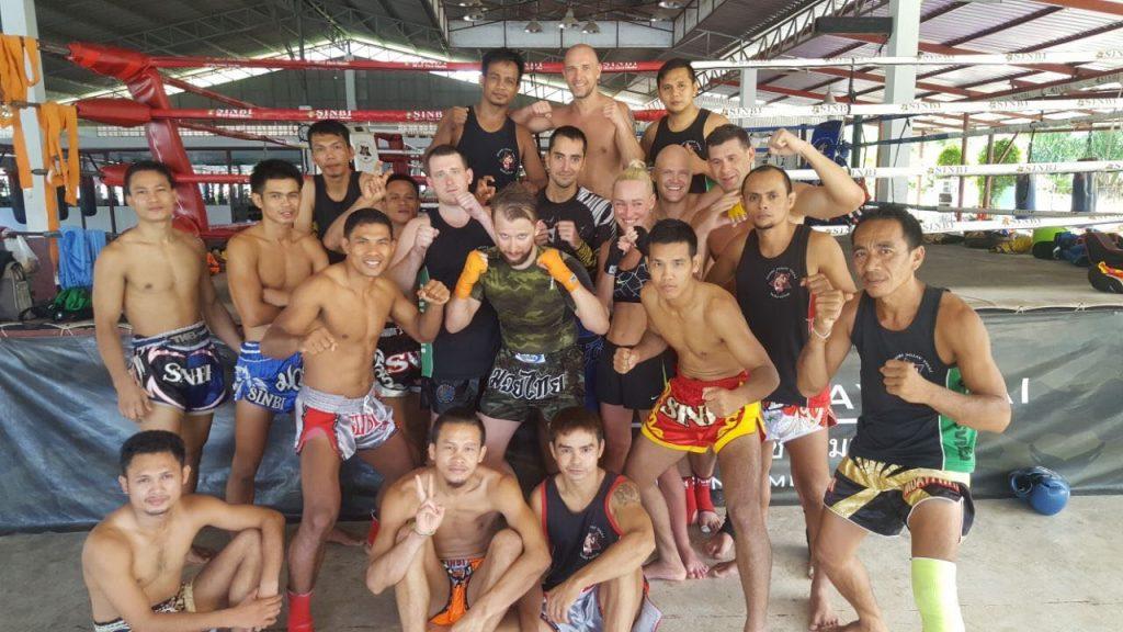 Фото с тренировок в кэмпе в Таиланде