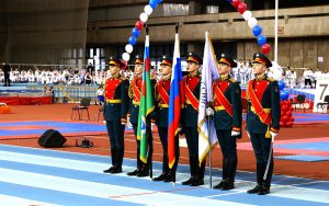 Тхэквон-до: «Московский вызов» в армейском манеже
