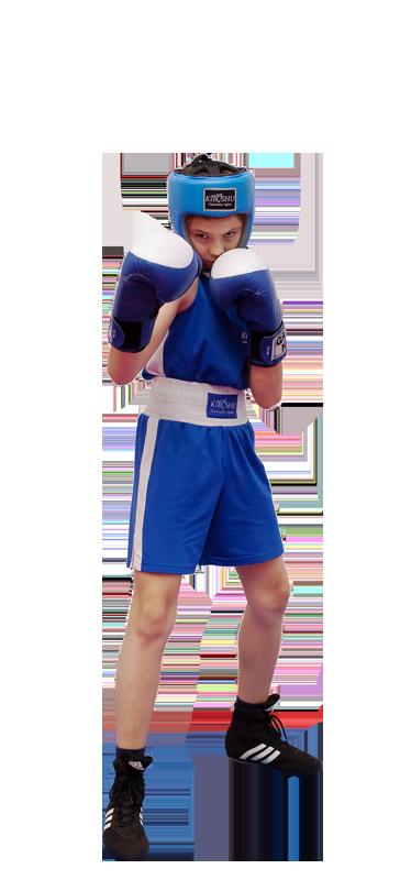 Детская экипировка для бокса - соревновательный вид