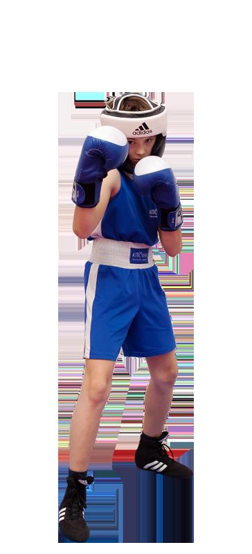 Детская экипировка для бокса - тренировочный вид