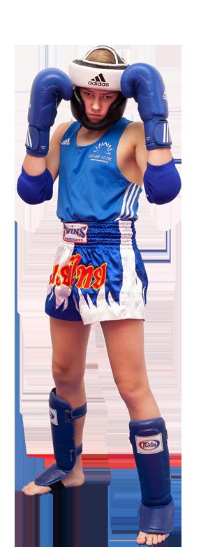 Экипировка для тайского бокса - тренировочный вид (дети и взрослые)