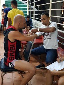 Виталий Шумаков - тренер по тайскому боксу