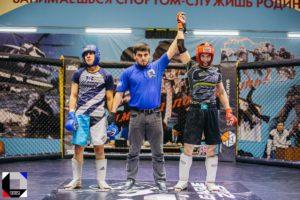 ММА - победители чемпионата Открытой Лиги единоборств