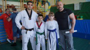 Рахман Алиев и Арсен Газзаев с учениками