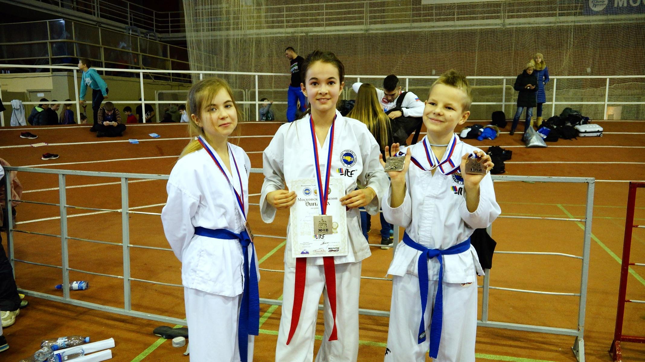 Детское тхэквон-до - победители из Белого Лотоса