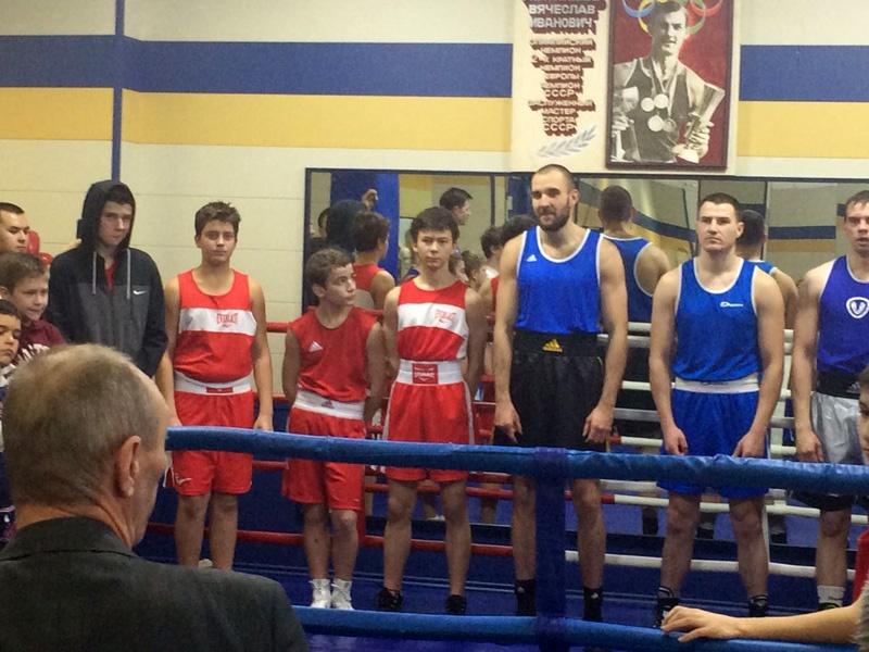 Победители секции бокса Белого Лотоса
