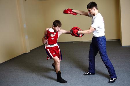 Индивидуальная тренировка по боксу