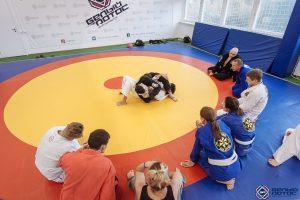 Тренировка по бразильскому джиу-джитсу