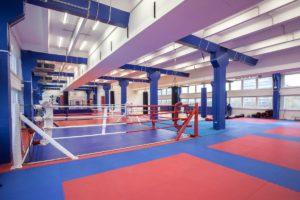 Зал тайского бокса и кикбоксинга центра единоборств Белый Лотос