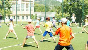 Спортивный лагерь в Болгарии