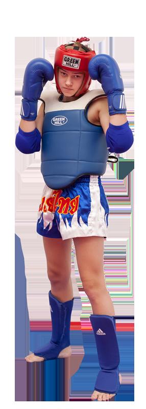 Детская соревновательная экипировка (дополнительно включает жилет)