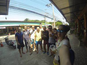 Секция тайского бокса «Белого Лотоса» на выезде в кэмп Синби Муай-тай