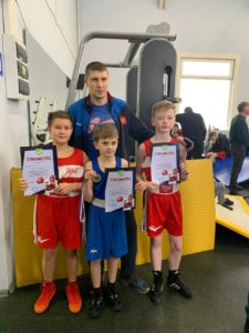 Соревнования по боксу среди детей