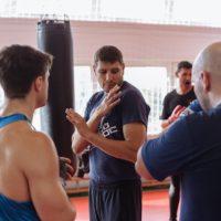 механика удара рукой боксер
