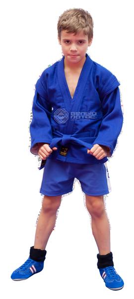 Детская экипировка для САМБО - соревновательный и тренировочный вид